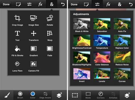 Adobe Photoshop Touch: Desktop-Level Photo-Editor For