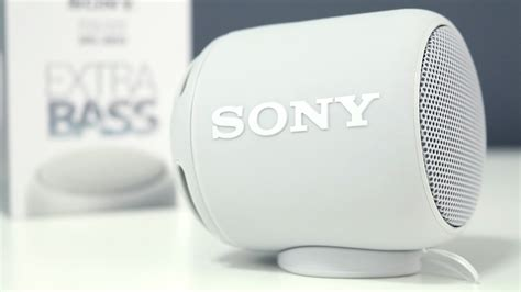 Sony SRS-XB10 Extra Bass Portable Speaker Review - YouTube