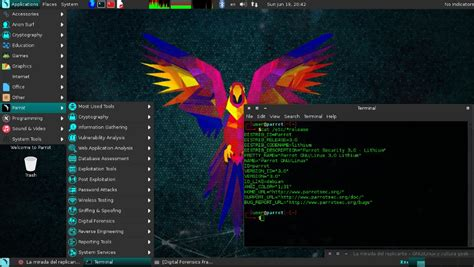 Parrot Security OS – Products – EgyptFOSS