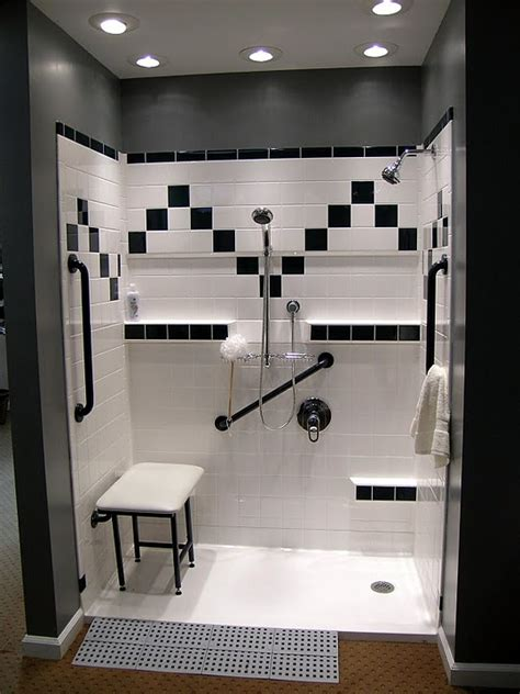 Barrier Free Showers
