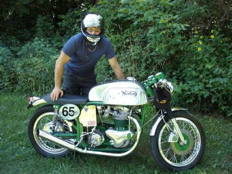 1965 Norton Cafe Racer Classic Motorcycle Pictures