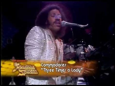 The Commodores - Three Times A Lady (Live Midnight Special