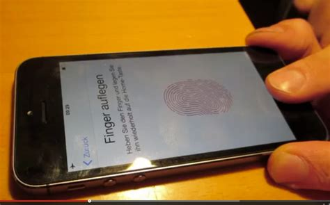 CCC hackt iPhone 5s Touch ID Fingerabdruck (Video)