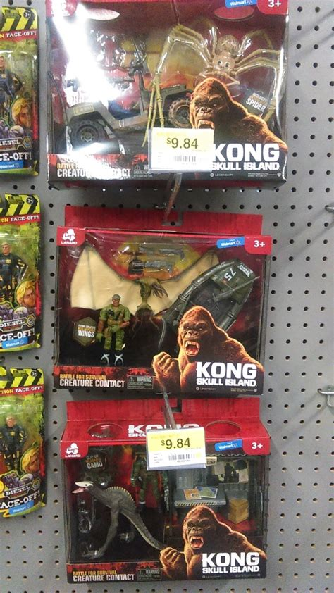 Kong: Skull Island Toys Now In Stores - The Toyark - News