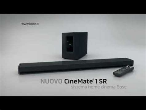 Spot TV - BOSE CineMate 1SR - YouTube