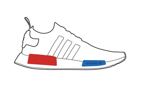 Adidas outlines on Behance
