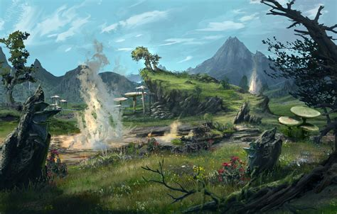 Elder Scrolls Online previews Morrowind's environments