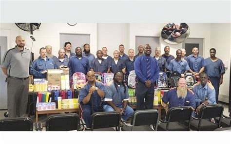 Prisoners at Gus Harrison make donations to local groups