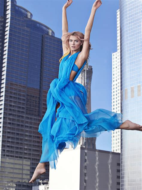 Next Top Model Blog: GNTM C9: Jumping from a Trampoline in