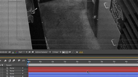 After Effects Tutorial - Faking a CCTV security tape - YouTube