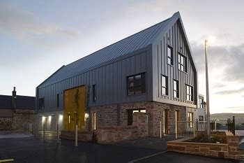 Colorcoat Urban metal cladding system specified on five of