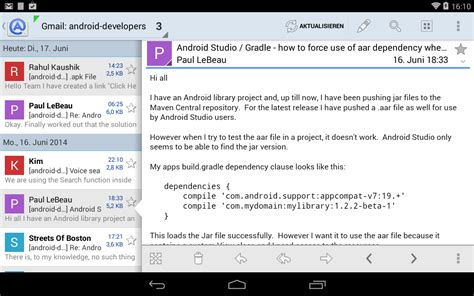Aqua Mail - email app – Android-Apps auf Google Play