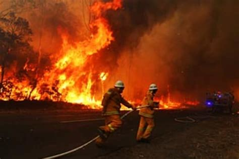 Firefighters prepare for worst as NSW swelters