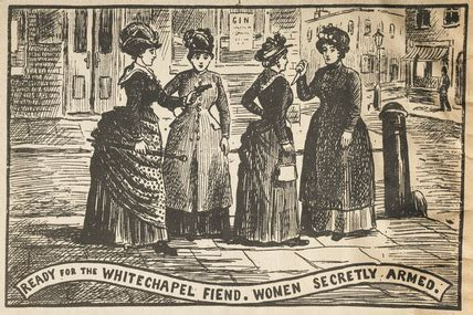 Ready for the Whitechapel Fiend: 1888 by Illustrated