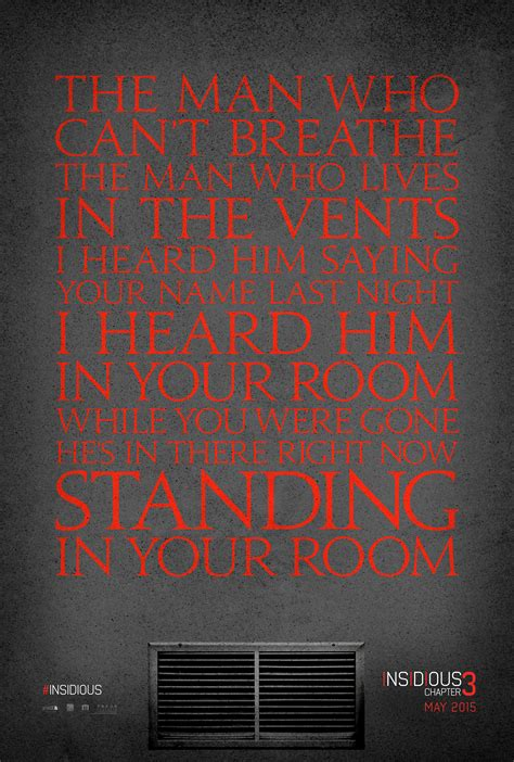 Insidious: Chapter 3 Poster and Trailer Teaser Count Down