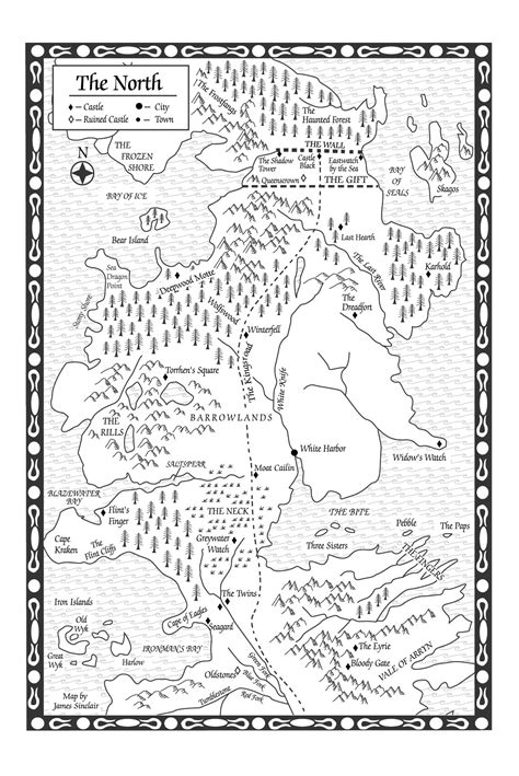 A Storm of Swords-Map of the North - A Wiki of Ice and Fire