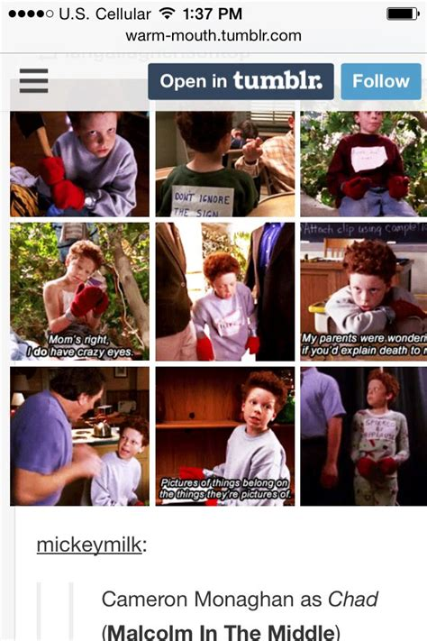 Cameron Monaghan in Malcolm in the Middle   Cameron