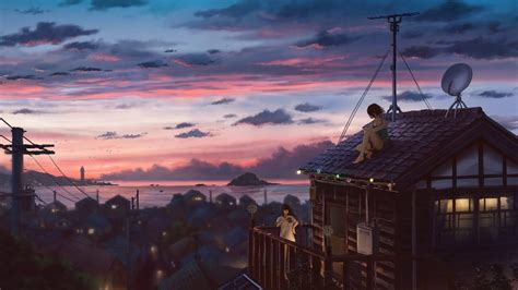 Peaceful Evening [2D Animated Wallpaper] - YouTube