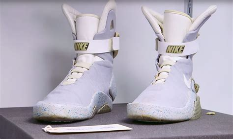 The Real Nike Air Mag Worn by Marty McFly Actually Still