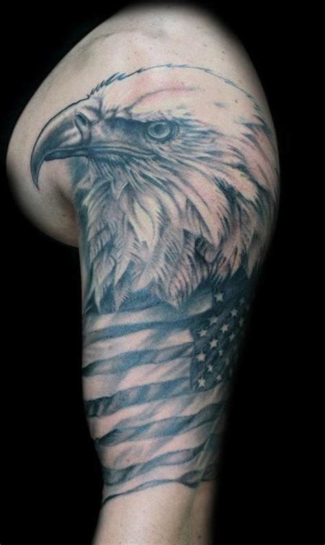 40+ Famous Black And Grey Flag Tattoos