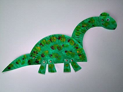 34 Amazing Paper Plate Crafts for Kids! | Dinosaurier