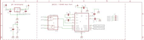 RS232 RS485 Wandlung - Mikrocontroller