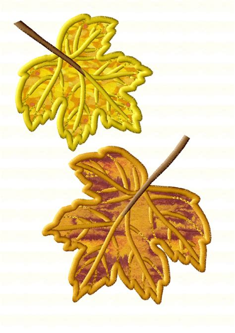 Autumn Applique Collection | Machine Embroidery Designs By