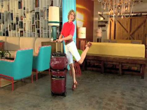 Samantha Brown Luggage Now at HSN - YouTube