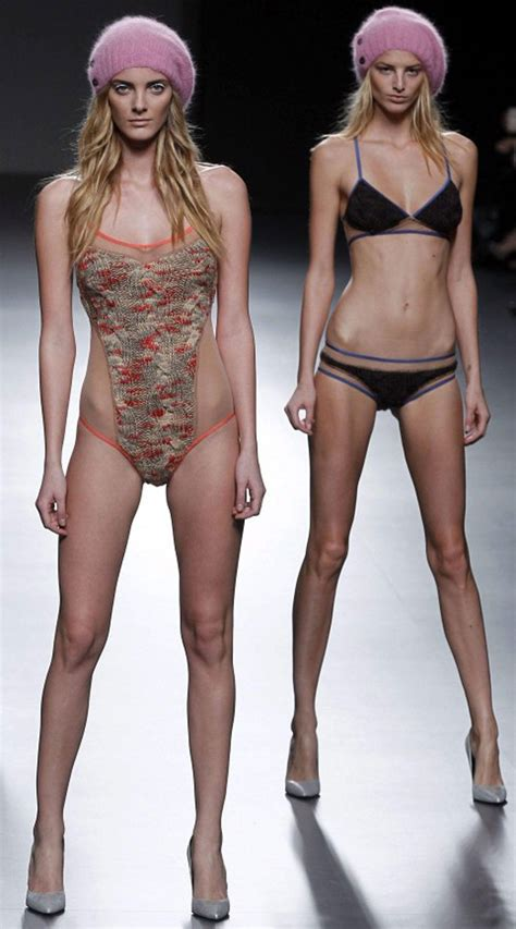 Fashion models are thin because this is what they do