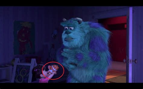 Monsters Inc came out in 2001