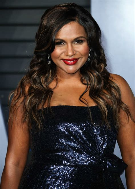 Mindy Kaling at 2018 Vanity Fair Oscar Party in Beverly