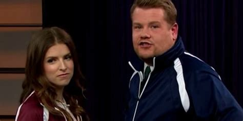 Anna Kendrick Skewers James Corden In A 'Pitch Perfect