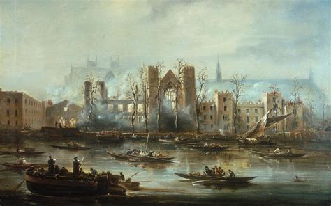 File:The Palace of Westminster from the River after the