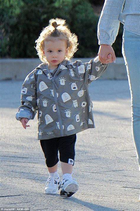 Jessica Biel walks hand in hand with adorable son Silas