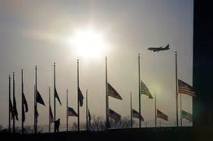 Flags Flying At Half-Mast After Sandy Hook Shooting