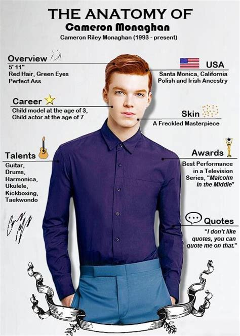 17 Best images about Cameron Monaghan on Pinterest