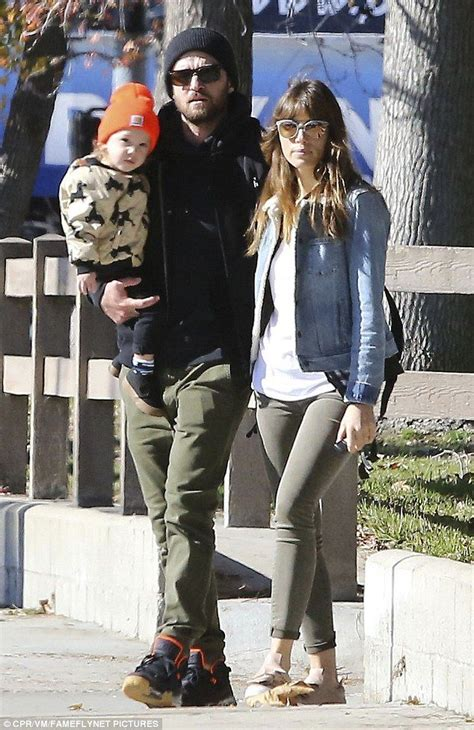 Justin Timberlake and Jessica Biel take baby Silas to the