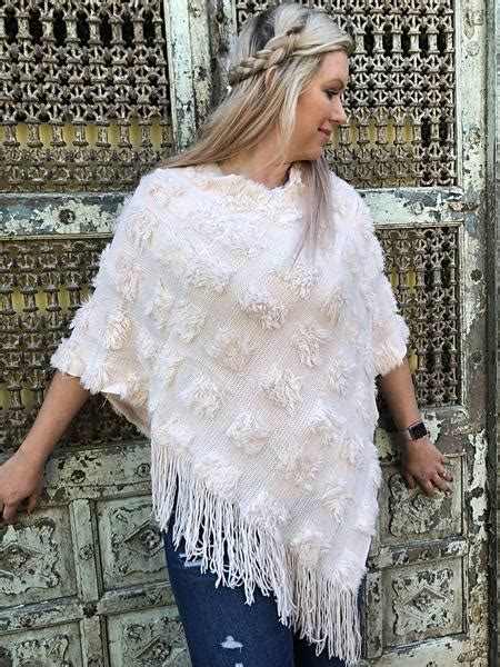 Pastel Pink Poncho | Purity Lace Designs