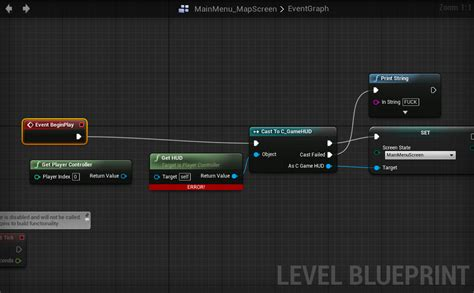"""""""Get owning Player"""" in level blueprint? - Unreal Engine Forums"""
