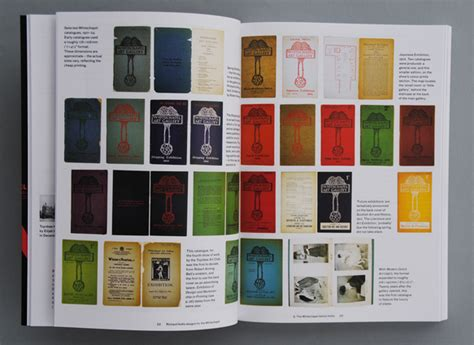 Richard Hollis designs for the Whitechapel: | Books