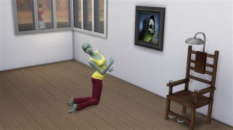My Sims 4 Blog: Deadly Painting and Chair by Necrodog