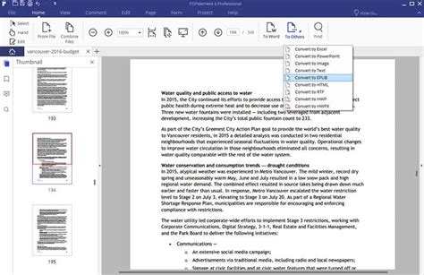 How to Convert PDF to eBook   Wondershare PDFelement
