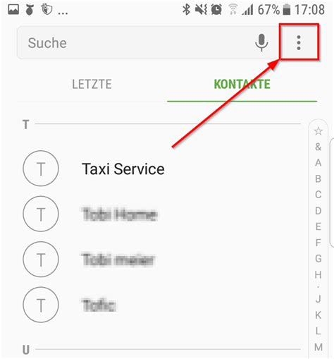 Android: Alle anonymen Anrufe sperren