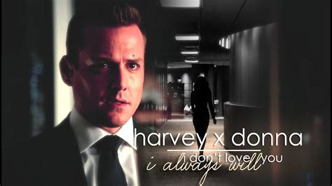 [suits] harvey x donna - i always will [6x10] - YouTube