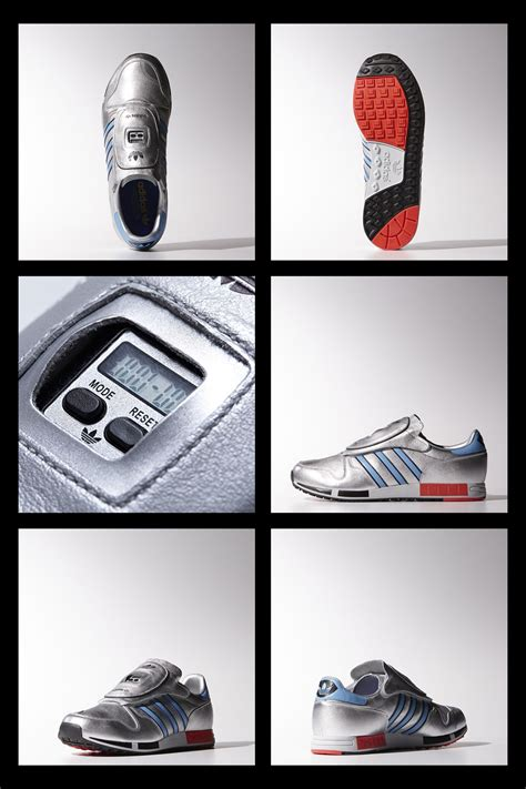 """80s Style Retro-futuristic Posters """"adidas Micropacer"""" on"""