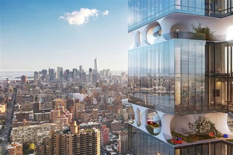 Midtown tower with private garden amenity brakes for