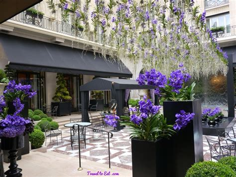 George V Hotel and Jeff Leatham, Paris - Travel To Eat