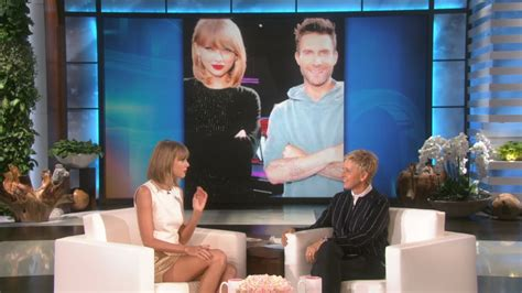 Taylor Swift Knows Adam Levine's Weakness - YouTube