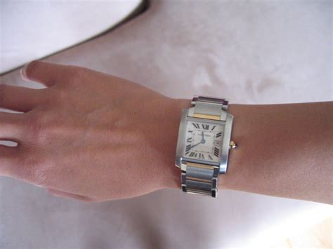 Can anyone show me a picture of a Cartier Tank watch on