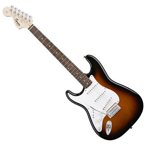 Squier Affinity Left Handed Stratocaster, RW, Brown